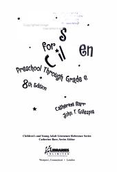 Best Books for Children PDF