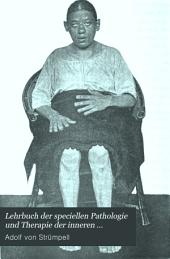 Lehrbuch der speciellen Pathologie und Therapie der inneren Krankheiten: Volume 3