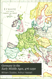 Germany in the Early Middle Ages: 476-1250