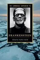 The Cambridge Companion to  Frankenstein  PDF