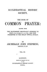 The Book Of Common Prayer Book PDF