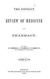 Detroit Review of Medicine and Pharmacy: Volume 3