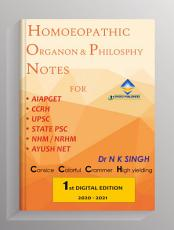 HOMOEOPATHIC ORGANON   PHILOSOPHY NOTES PDF