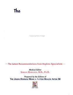 The Johns Hopkins Medical Guide to Health After 50 PDF