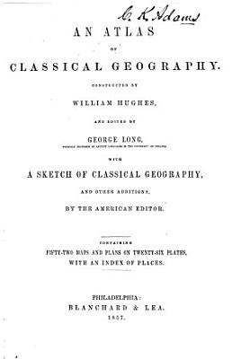 An Atlas of Classical Geography PDF
