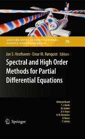 Spectral and High Order Methods for Partial Differential Equations: Selected papers from the ICOSAHOM '09 conference, June 22-26, Trondheim, Norway