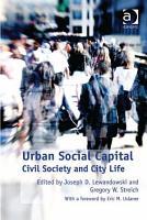 Urban Social Capital PDF