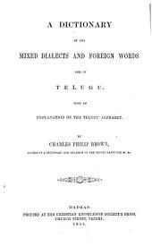 Dictionary of mixed Telugu