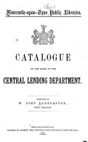 Catalogue of the Books in the Central Lending Department PDF