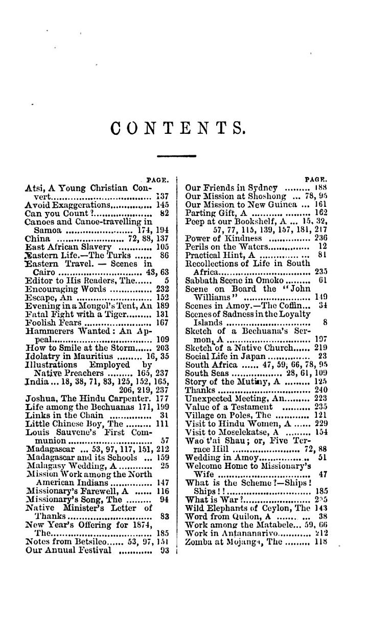 The Juvenile Missionary Magazine (and Annual).