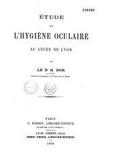 Étude sur l'hygiène oculaire au lycée de Lyon