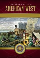 The World of the American West  A Daily Life Encyclopedia  2 volumes  PDF