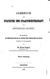 Das Königreich Sachsen in statistischer und staatswirthschaftlicher beziehung... 1.bd