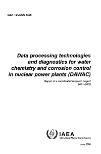 Data Processing Technologies and Diagnostics for Water Chemistry and Corrosion Control in Nuclear Power Plants  DAWAC  PDF