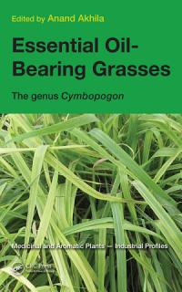 Essential Oil Bearing Grasses Book