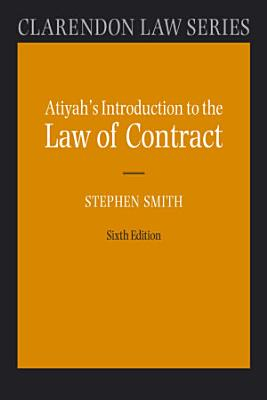 Atiyah s Introduction to the Law of Contract