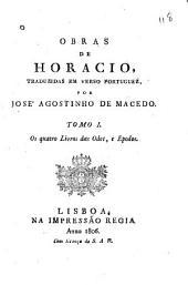 Obras de Horacio: Volume 1