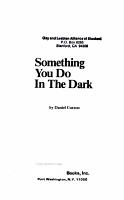 Something You Do in the Dark PDF