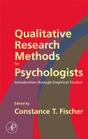 Qualitative Research Methods for Psychologists PDF