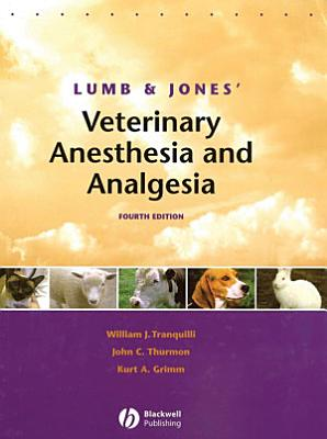 Lumb and Jones  Veterinary Anesthesia and Analgesia PDF