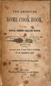 The American Home Cook Book: With Several Hundred Excellent Recipes, Selected and Tried with Great Care, and with a View to be Used by Those who Regard Economy, and Containing Information on the Arrangement and Well Ordering of the Kitchen : the Whole Based on Many Years of Experience