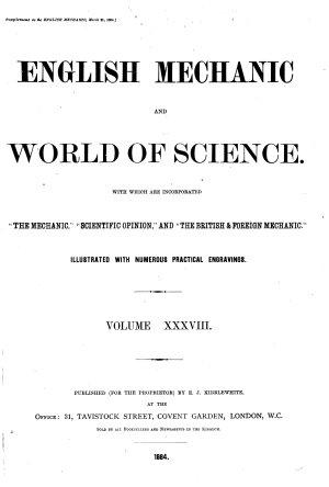 English Mechanic and World of Science PDF