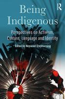Being Indigenous PDF