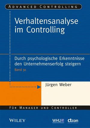 Verhaltensanalyse im Controlling PDF