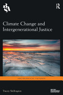 Climate Change and Intergenerational Justice