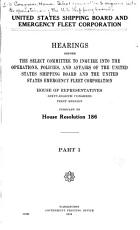 United States Shipping Board and Emergency Fleet Corporation PDF