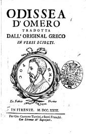 Odissea d'Omero tradotta dall'original greco in versi sciolti
