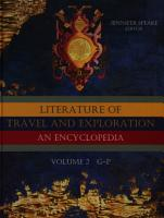 Literature of Travel and Exploration  G to P PDF