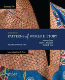 Sources for Patterns of World History