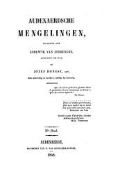 Audenaerdsche Mengelingen: Volume 3