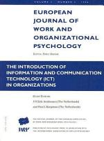 The Introduction of Information and Communication Technology (ICT) in Organizations