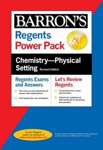 Regents Chemistry  Physical Setting Power Pack Revised Edition PDF