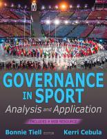 Governance in Sport PDF