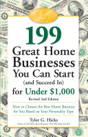 199 Great Home Businesses You Can Start (and Succeed In) for Under $1,000