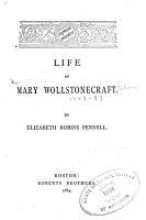 Life of Mary Wollstonecraft PDF