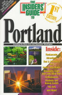 The Insiders' Guide to Portland