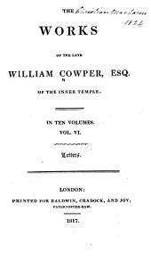 The Works of William Cowper: Volume 6