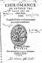 La Chiromance ... Traduicte d'Italien en François, etc. fol. 96