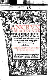 An crux expediat vel noceat instructio consolatoria (etc.)