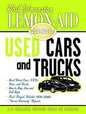 Lemon Aid Used Cars and Trucks 2009 2010 PDF