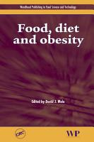 Food  Diet and Obesity PDF