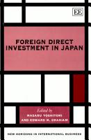 Foreign Direct Investment in Japan PDF