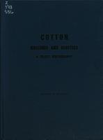 Cotton Breeding and Genetics PDF
