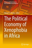 The Political Economy of Xenophobia in Africa PDF