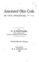 Annotated Ohio Code of Civil Procedure PDF