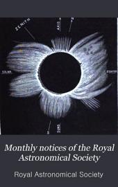 Monthly Notices of the Royal Astronomical Society: Volume 39